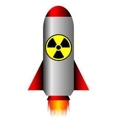 Nuclear ballistic rocket vector