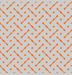 Tile pattern with grey and orange background vector