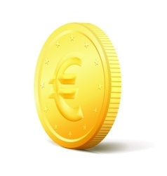 Exchange Money concept Two sides golden vector image