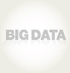 Big data with binary texture vector