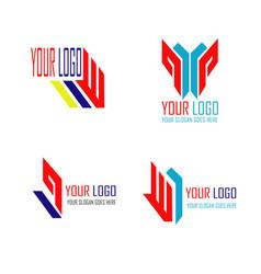 bundle logo vector image