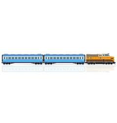 railway train 01 vector image