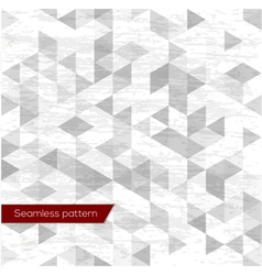 Diamonds seamless triangle abstract pattern vector image