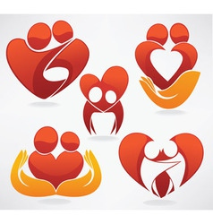 people in love vector image vector image