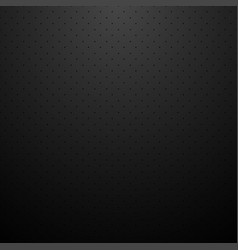 Black dotted background dark carbon texture vector