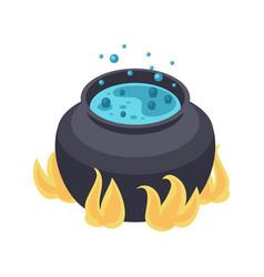 Cauldron isometric icon vector