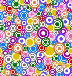 Circles texture vector