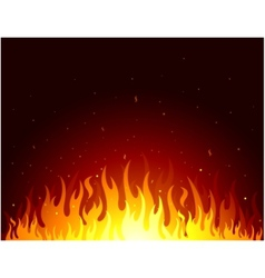 Fire flames symbol vector