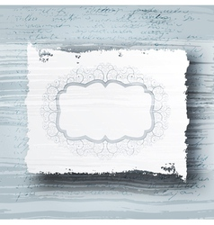 grungy banner vector image vector image