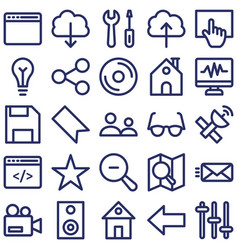 Internet connection isolated icon which ca vector
