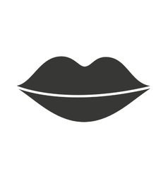 lips woman isolated icon design vector image