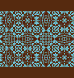 neoclassic seamless oriental pattern islamic vector image