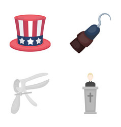 religion cinema medicine and other web icon in vector image