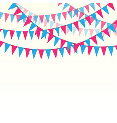 holiday ribbons background vector image