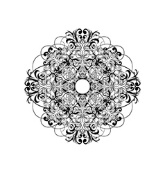 ceiling rose vector image vector image