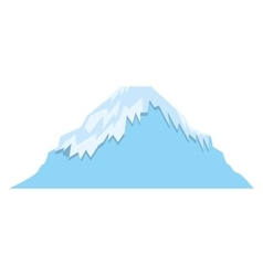 mount fuji asian isolated icon vector image