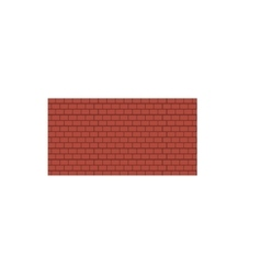 Background of old vintage brown brick wall vector image