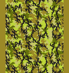 Camouflage pattern seamless vector