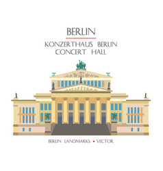 colorful concert hall vector image