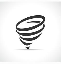 funnel symbol icon design vector image