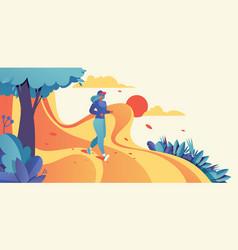 horizontal good for banner design vector image