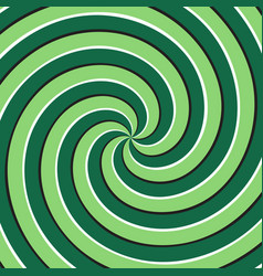 Optical background green spiral surface vector