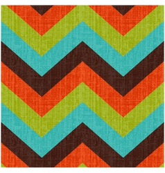 Seamless Retro Zig Zag Pattern vector