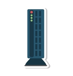 Speaker sound device isolated icon vector
