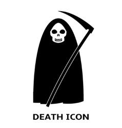 Death icon vector image