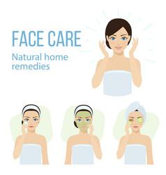 Face care vector