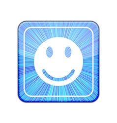 version Face icon Eps 10 vector image vector image