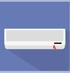 air conditioner icon set of great flat icons vector image