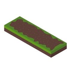 Isometric ground vector