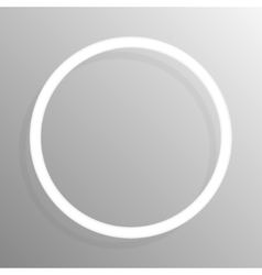 Paper circle banners frame template for design vector