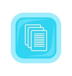 Sheet Paper Icon vector