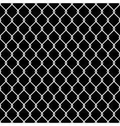 Steel Wire Mesh Seamless Background vector image