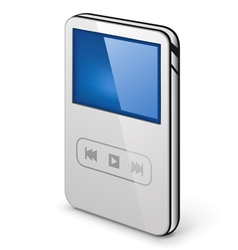 personal media player vector image