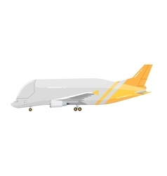Airplane isolated on white background vector