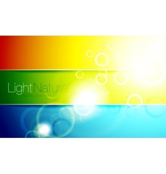 Colorful shiny backgrounds vector image