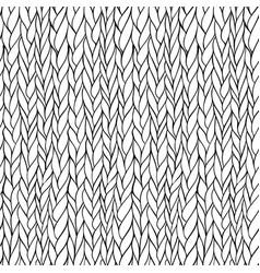 seamless knitting pattern vector image