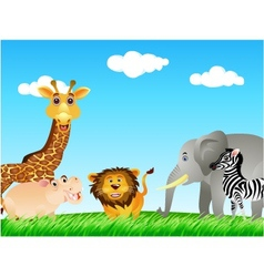 animal collection vector image vector image