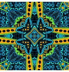 Abstract seamless pattern ornamental vector image