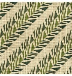 Geometric textile print vector