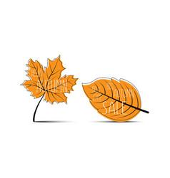 hello autumn autumn leaves big autumn sale 50 off vector image