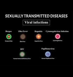 Hiv herpes papillomavirus aids hepatitis vector