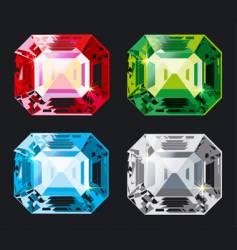 Kristal set vector
