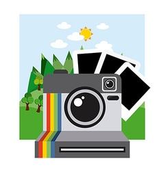 Photography concept vector