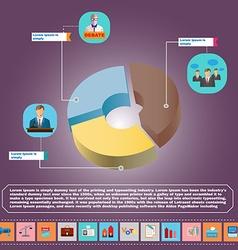 Presidential Debates Infographic vector