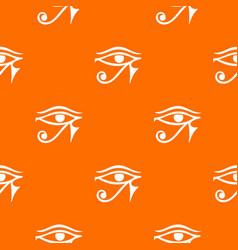 eye of horus egypt deity pattern seamless vector image vector image