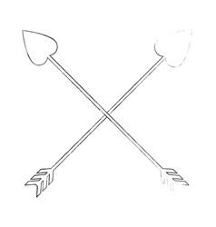Arrow icon image vector